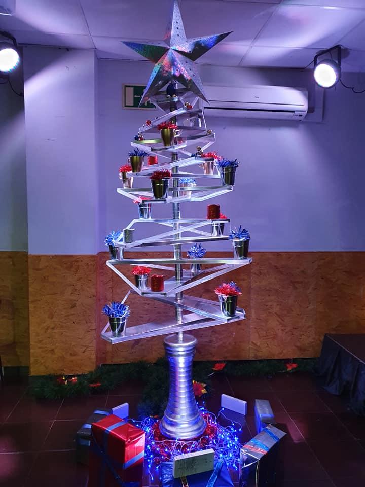 Tercer Premio en Arboles de Navidad